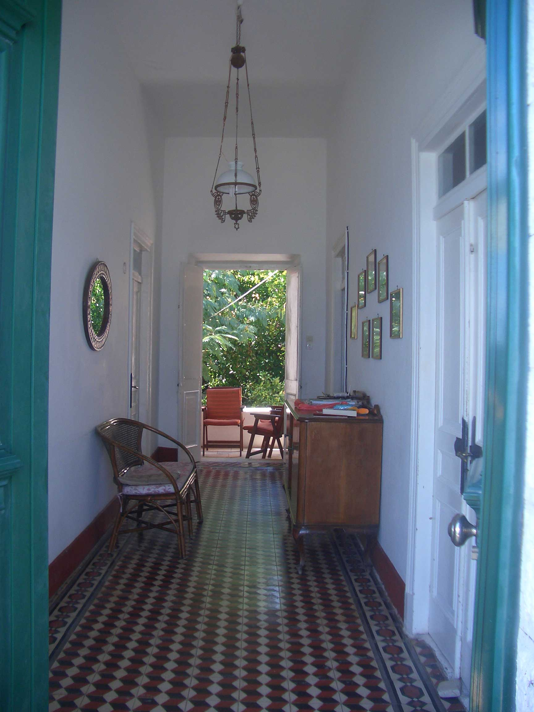 Pink House: Entrance hall